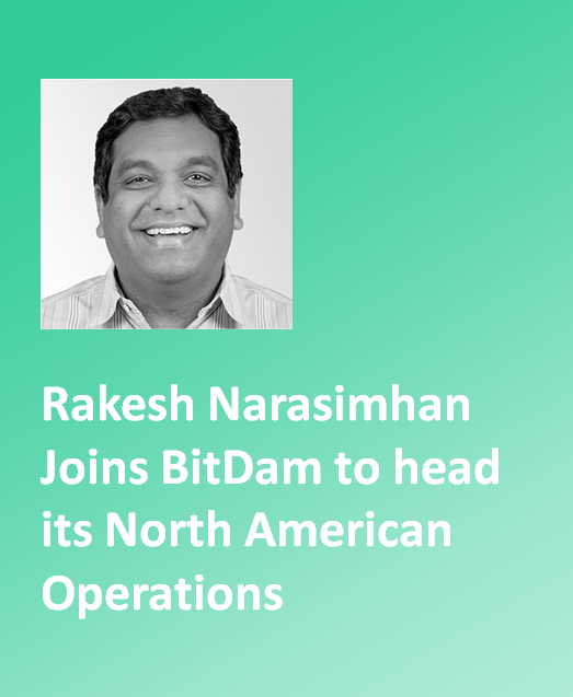 Rakesh Narasimhan Joins BitDam to head its North American Operations